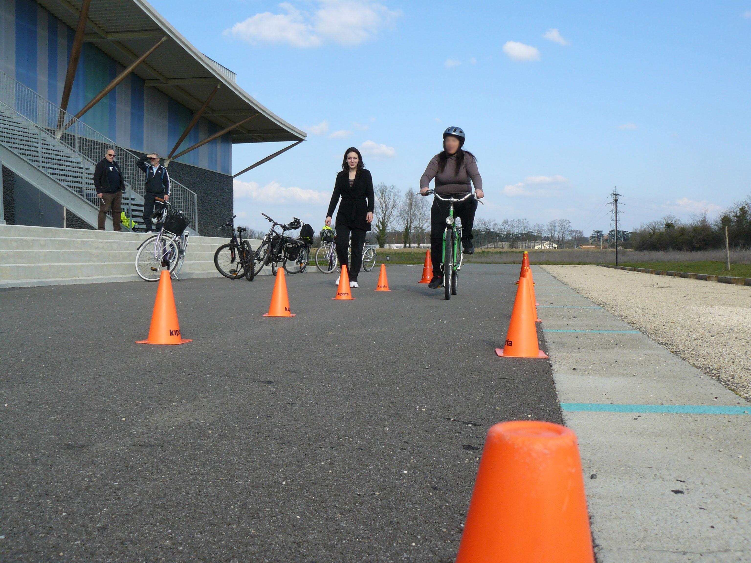 Stage de l'école à vélo